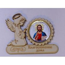 """Магнит ангел """"Исус"""""""