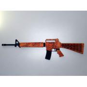 Деревянный сувенир M16