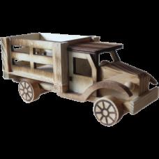 Деревянный сувенирный грузовик