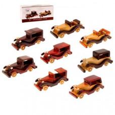 Сувенирные деревянные машинки оптом