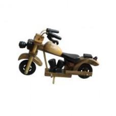 Деревянный маленький мотоцикл