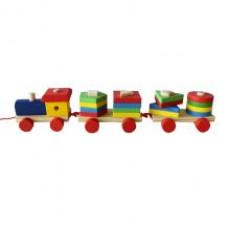 Детский большой паровоз