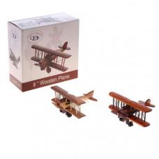 Сувенирный деревянный большой самолёт