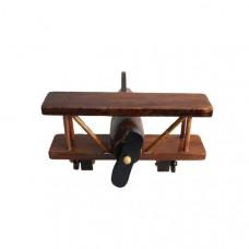 Сувенирный деревянный маленький самолёт