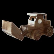 Сувенирный деревянный экскаватор