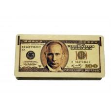 """Купюрница """"100 долларов"""" с Путиным"""