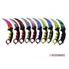 """Нож """"Керамбит"""" лак в ассортименте оптом"""